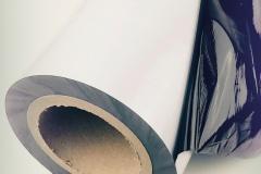 Czarno biała folia do stali